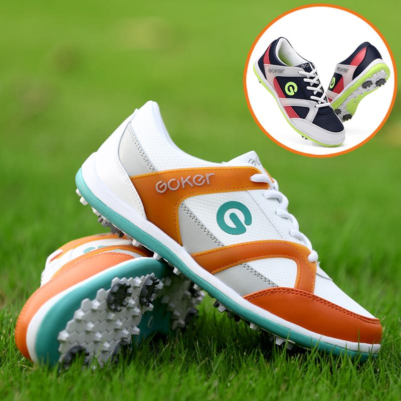 New Ladies Golf Shoes GOLF shoes golf shoes breathable nail activities are waterproof shoes(China (Mainland))