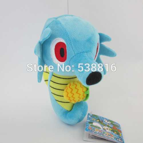 30pcs Anime plush toys 18cm Pokemon Plush Toys Horsea With Tags New Fashion Cartoon Plush Toys Movies & TV High Guality(China (Mainland))
