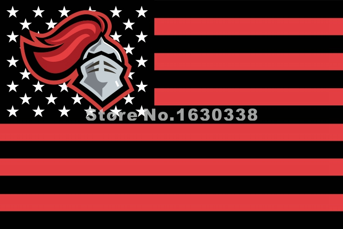 Rutgers Scarlet Knights Nation Flag 3ft X 5ft Polyester NCAA Banner Flying Size No.4 144* 96cm Custom Flag(China (Mainland))