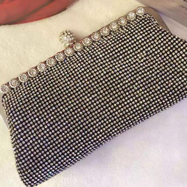 Bolsa De Festa Em Strass : Aliexpress compre bonito cristal strass de metal saco