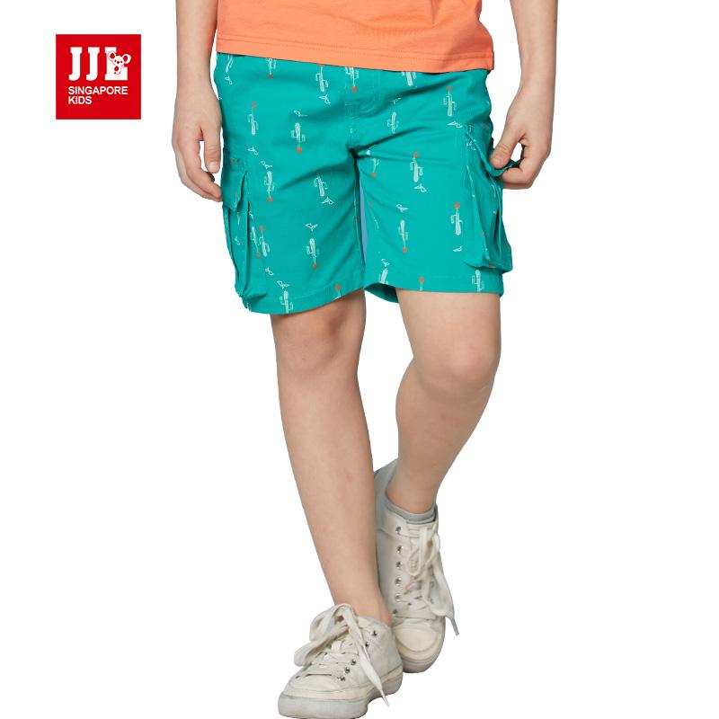 summer 2016 short pants toddler boys short kids cotton causal short teenagers boys trouser school pants half length trouser(China (Mainland))