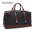 Meiyashidun Fashion Men Travel Bag Large Capacity Women Luggage weekend Duffle Bags Canvas Tote Big Travel