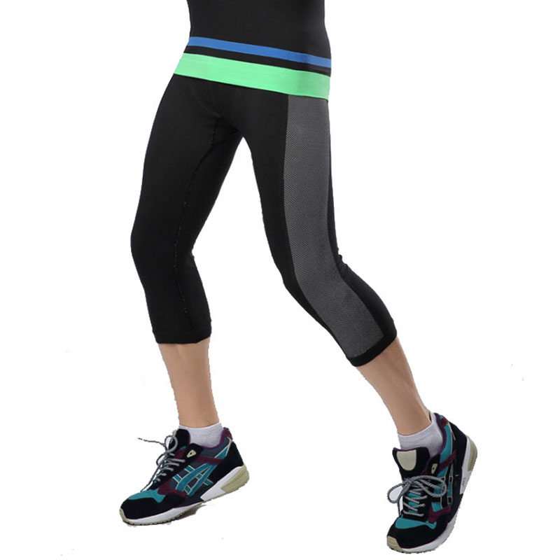 2016 New Hot Sale Man Running Tight Pants Basketball Football Training Compression Pants Bodybuilding Quick Dry Sport Pant SO728(China (Mainland))