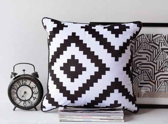Achetez en gros canap blanc couvrir en ligne des - Coussin pour canape noir ...