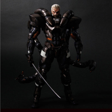 2016 New Arrival Play Arts KAI Metal Gear Solid Consolide General PVC Action Figure Collectible Model Toys Gift PA0019