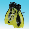 Фотография Adult snorkeling equipment double lens Diving Mask dry Snorkel adjustable strap Flippers MSF2232001