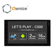 Ownice C500 Android 6.0 2G RAM 7'' 1024*600 Support 4G LTE SIM Network Car GPS 2 din Universal with car Radio player no dvd(China (Mainland))