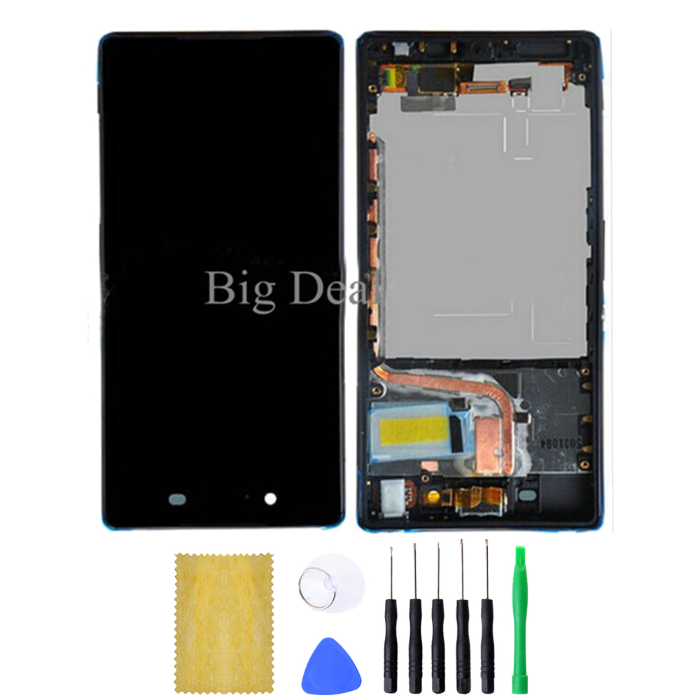 2015 New Top Fashion For Sony Ericsson Xperia Z4 Lcd Display With Touch Screen Digitizer Frame Assembly  with tools