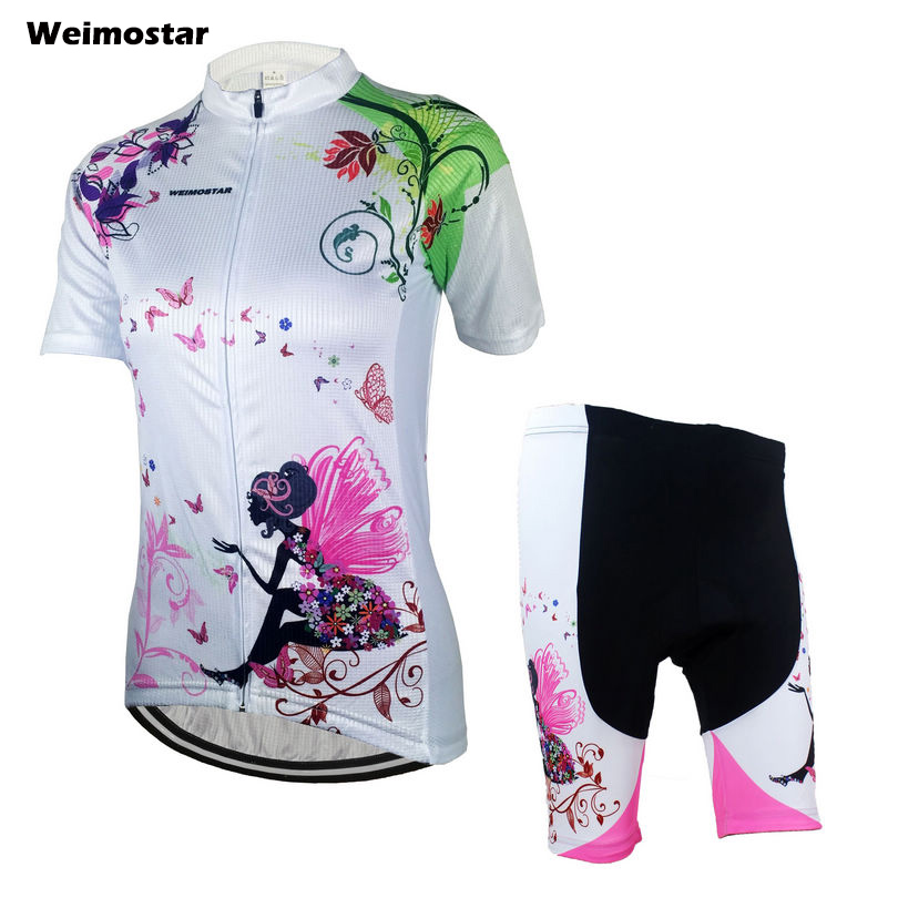 WEIMOSTAR Women's Sportswear QUICK STEP Cycling clothing Ropa Ciclismo jersey Bicycle cycling wear bikes shorts Size S-3XL(China (Mainland))