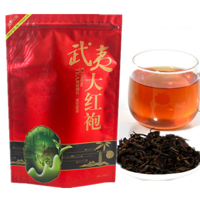 250g Chinese Da Hong Pao tea Big Red Robe oolong black tea green food da hong pao health care dahongpao tea(China (Mainland))