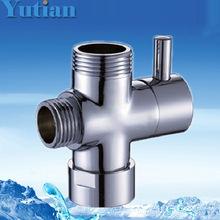 Trasporto libero, vendita al dettaglio, fationable rubinetto del bagno accessori nuovo acqua doccia in ottone deviatore YT-5102(China (Mainland))