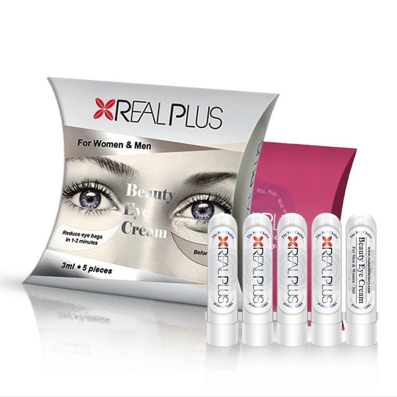 REAL PLUS Reduce eye bags in 1-2 minutes eye cream moisturizing eye care anti- puffiness wrinkles dark circles face skin care