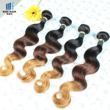 12-28 inch Brazilian Body Wave 4 Bundle Deals T1b/4/30 Ombre Human Hair Grade 7A Ombre Hair Extensions Meches Bresilienne Lots