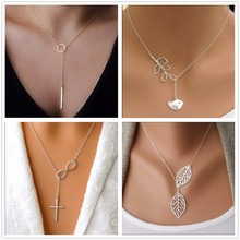 NK609+ Hot Selling New Silver Plated Inifity Fish Pendants Necklaces For Women Jewelry Accessories Wholesale Cheap Aliexpress(China (Mainland))