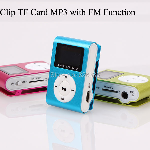 Downloading Sport Digital Music Player With Screen Mini Clip Mp3 Player with Radio FM(China (Mainland))