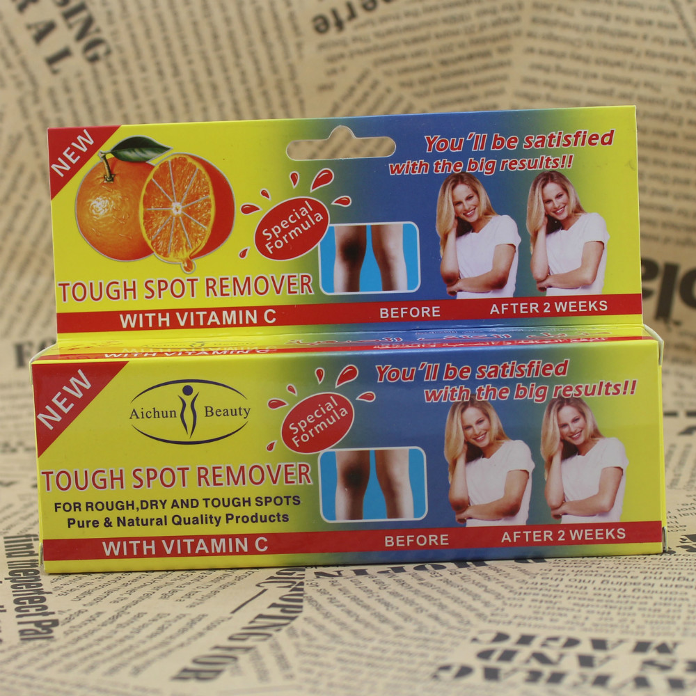 big brand vitamin C tough spot remover in7 days foot care for FEET 100g B98(China (Mainland))