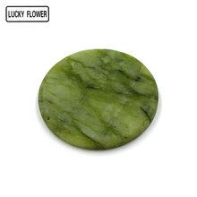 Wonder Lash Round Jade Stone Eyelash Extension Glue Adhesive Pallet Stand Holder