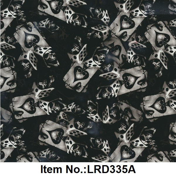 No.LRD335A aqua printing 50 SQMs type water transfer hydrographics film by liquid image(China (Mainland))