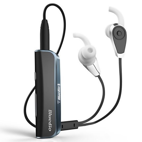 100% Original Brand New Bluedio i6 Sports Bluetooth Stereo Headset Clip On Design Bluetooth Headset Earphone