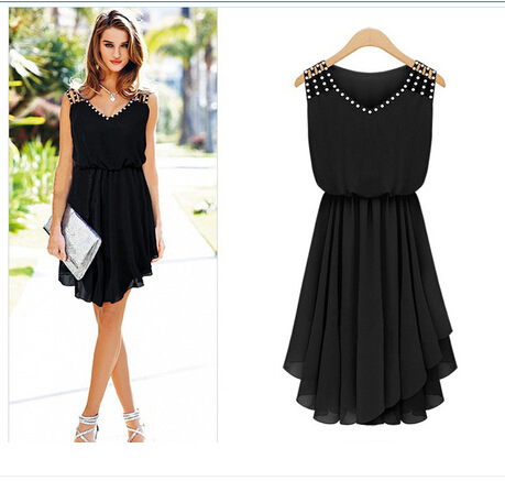 casual black dress for women | Gommap Blog