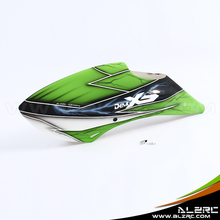 ALZRC – X5 FBL Fiberglass Canopy frosted – Series A