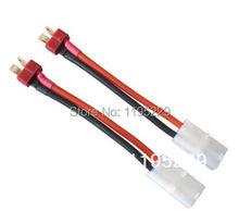 2x Tamiya разъем-розетка преобразование деканов T стиль штекер кабеля
