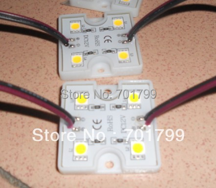 promotion!!! 5050 SMD WARM WHITE LED module,0.96W;DC12V;20pcs a string;IP67