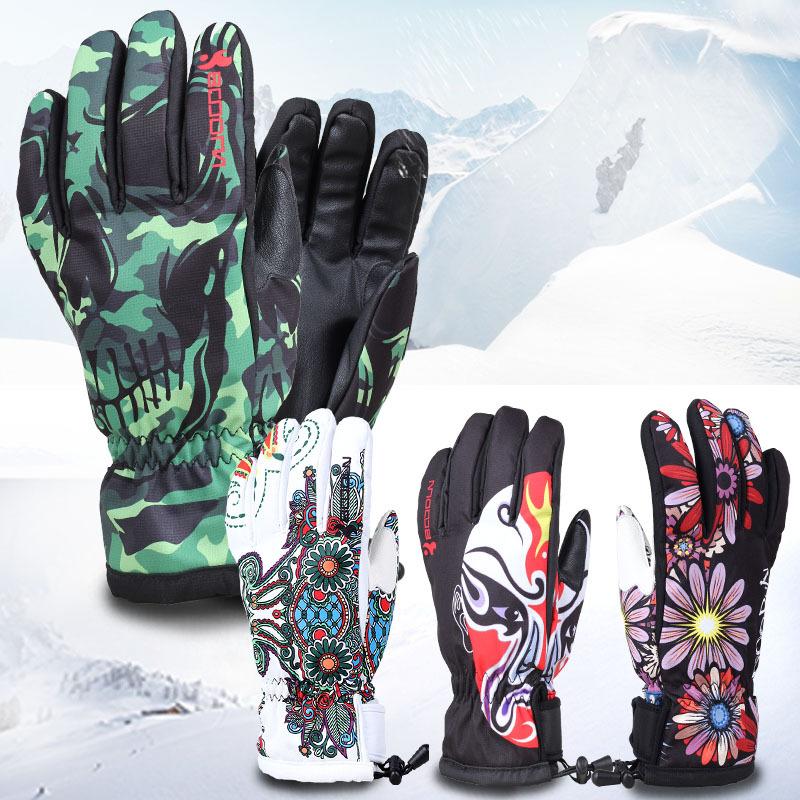 Burton Winter Ski Gloves Waterproof Windproof Plate Single Men and Women Professional Men and Women Warm Gloves(China (Mainland))