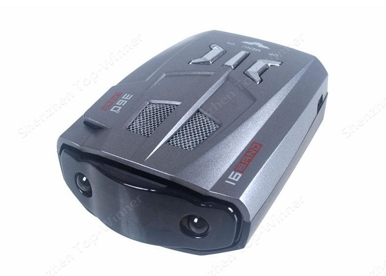 Автомобиль детектор V9 россия / английский 16 марка светодиодный дисплей X K нк ку-диапазон ка лазер против антирадар