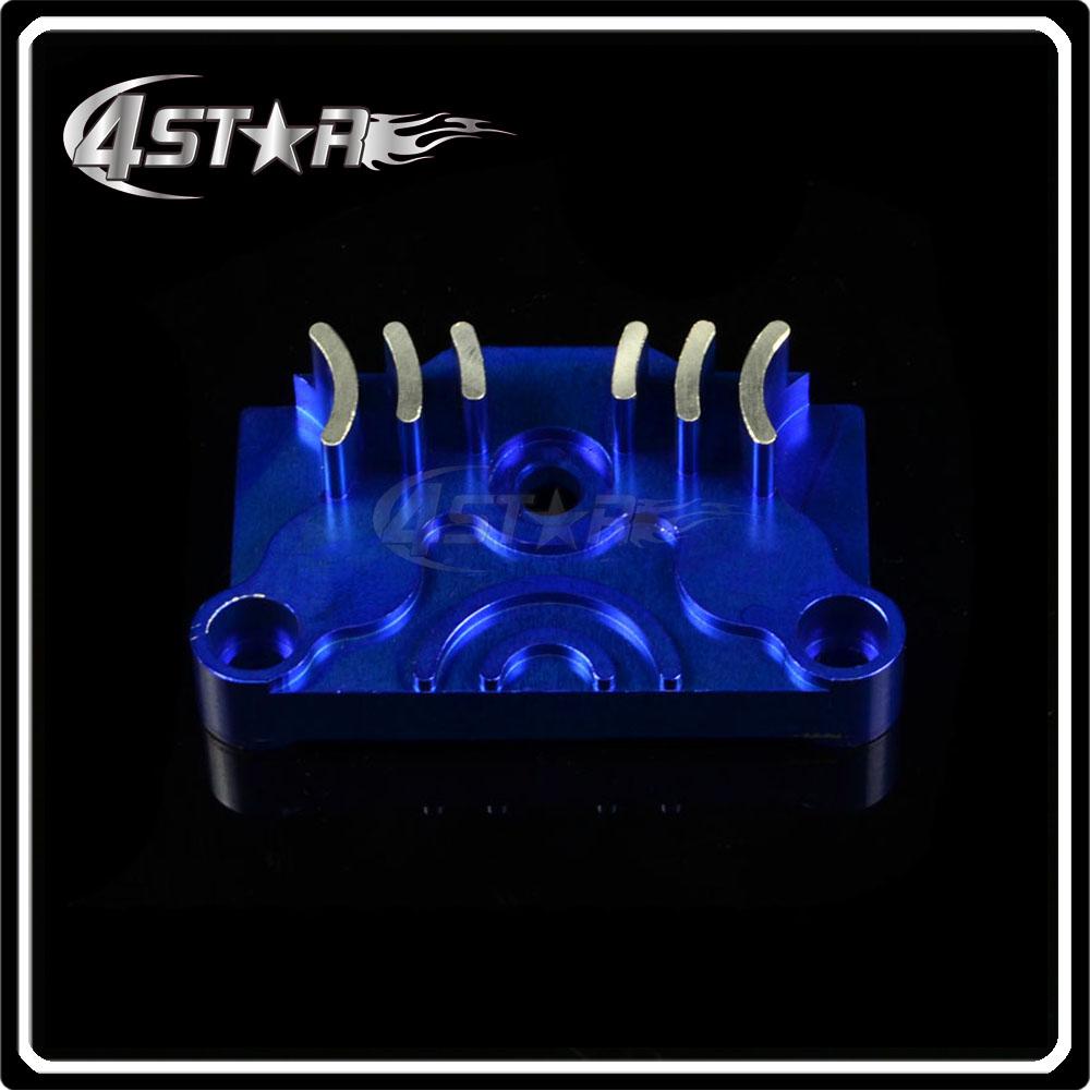 Blue CNC Billet Engine Dress Up Kit XR50 CRF50 KLX110 TTR90 Lifan 125cc 125cc 138cc Pit