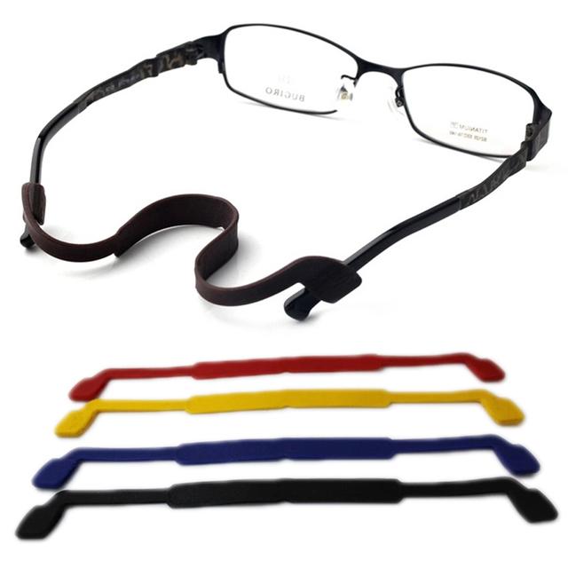 Новинка очки аксессуары супер мягкие эластичные силикагеля очки ремешок сеть скольжению ...