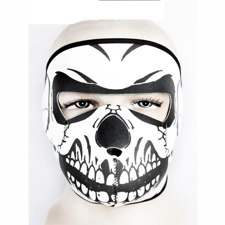 2016 Cool Design Balaclava Full Face Masks For Ghosts Skull Bike Skiing Training Ski Mask Neoprene material 18 models(China (Mainland))