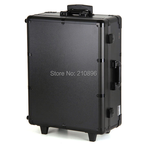 makeup box with legs comestic case cosmetic trolley case(China (Mainland))