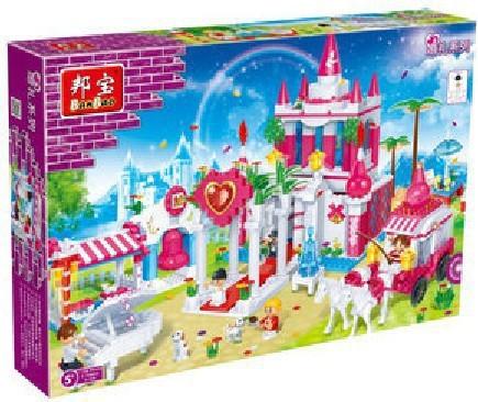 Здесь можно купить  Banbao 6108 1128 pcs Wedding Blocks Toys for Girls Plastic Building Block Sets Educational DIY Bricks Toys compatible with lego  Игрушки и Хобби