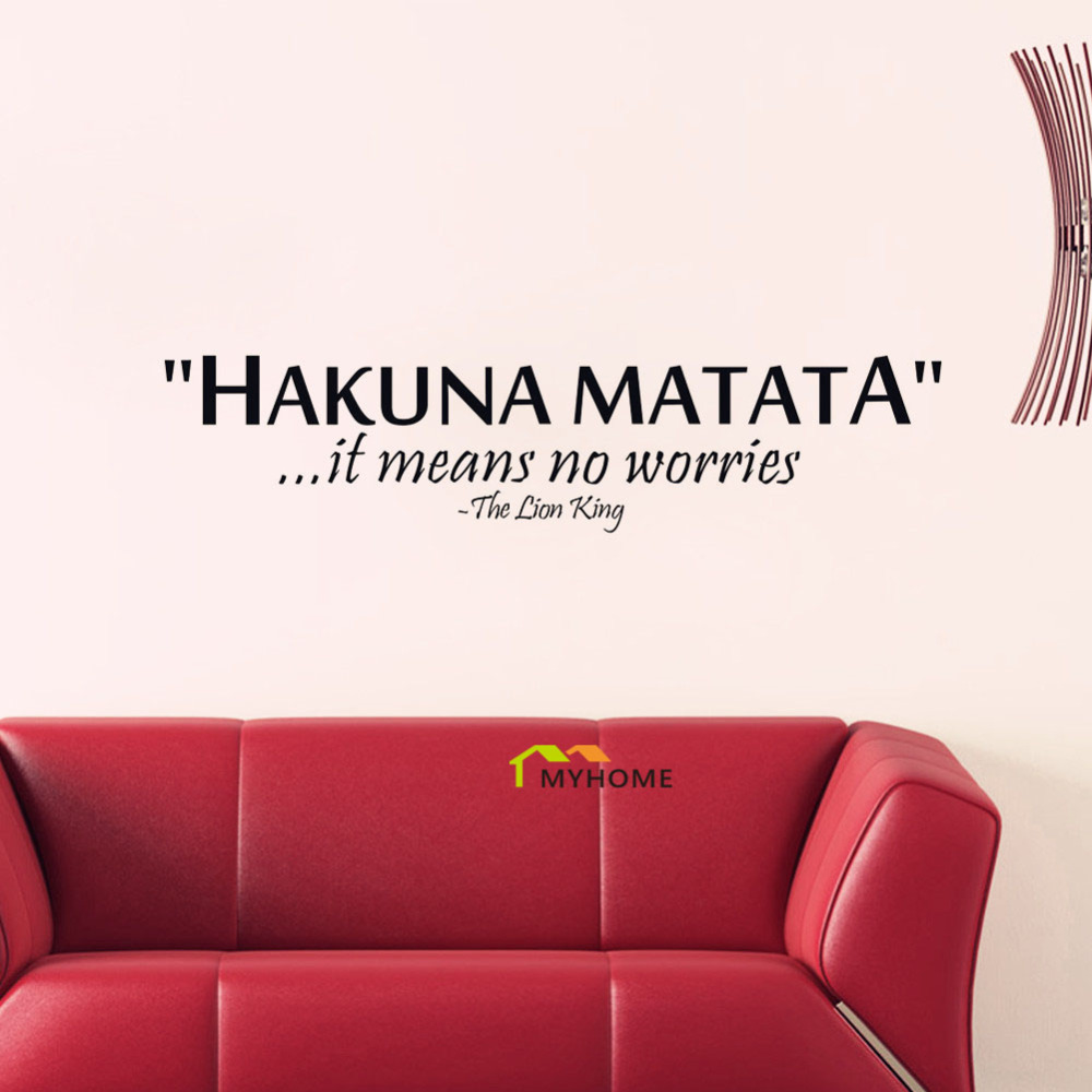 The lion king quotes hakuna matata it means no worries for Decoration quotes sayings