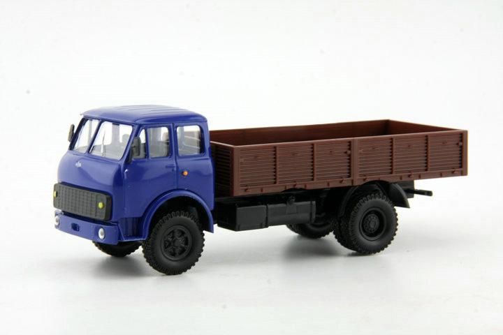 Cheap 1:43 Russian MAZ KRAZ van model blue Alloy Truck Model(China (Mainland))
