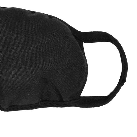 Big Promotion Lady Women Solid Black Ear Loop Face Mouth Mask Muffle(China (Mainland))
