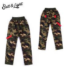 Spring Autumn 2016 children fashion cotton clothes casual pants camouflage boy safty quality sport pants(China (Mainland))