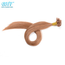 100% Brazilian Remy Hair Fusion Hair Extensions Keratin U/Nail Tip Human Hair Extension 0.5g/s,50s/lot Natural hair on capsules(China (Mainland))