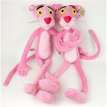 "1pcs 14.2"" 36 CM NICI Cute Pink Naughty Leopard Pink Panther Plush Stuffed Toys Baby Kids Doll Brinquedos(China (Mainland))"