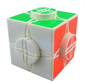 MoYu The Wheel of Time Magic Cube Puzzle White 76 mm Educational Toy Special Toys Concept Edition Birthday Gift(China (Mainland))