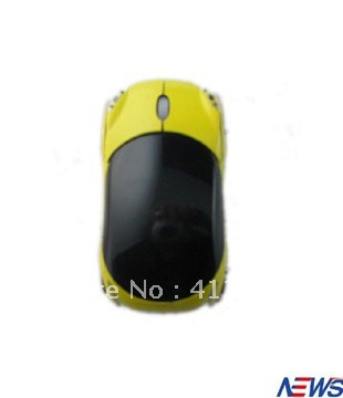 Free shipping+2.4G Car Wireless Optical Mouse+Industry No. 1 Program+Customed color available+Wholesale&retail+(China (Mainland))