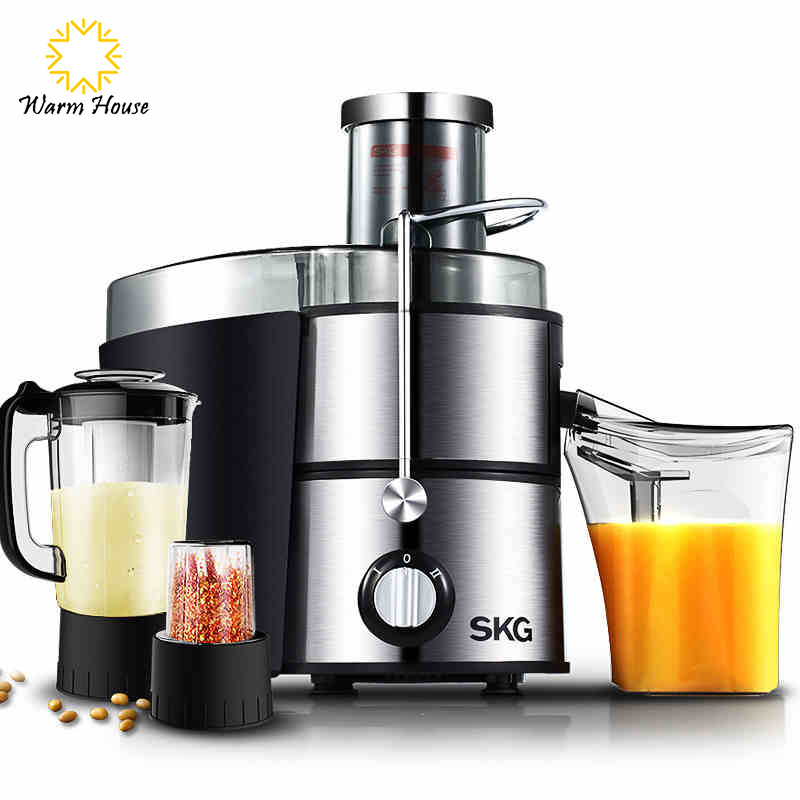 Slow Juicer Oranges : 2016 New Arrival Slow Juicer Fruit vegetable Citrus Juice Extractor 100% Original Blender Mixer ...