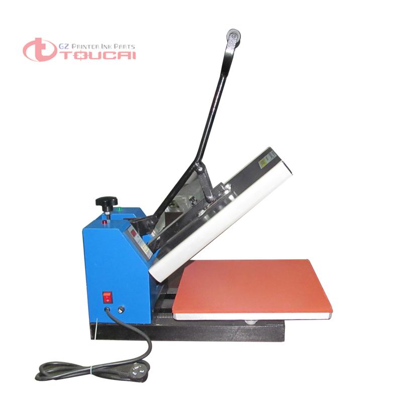 "40*60 cm (16 ""* 24"") T-shirt de impresión de cama Plana Máquina de Transferencia de Calor de Prensa SD09(China (Mainland))"