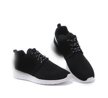 2016 men and women fashion breathable casual shoes shoes gray black lace flat shoes size 36-44 +