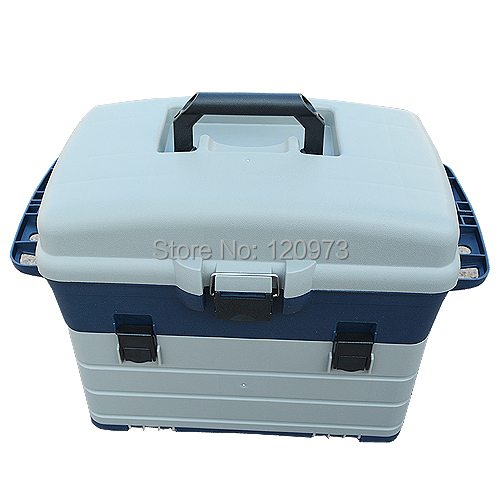Multifunctional fishing box lure fishing tool box rock for Large tackle boxes for fishing