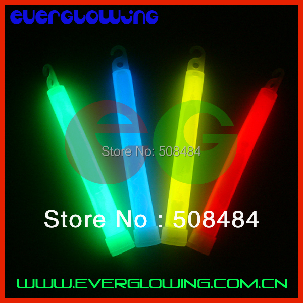 high quality 10pcs/lot mixed color 6 inches Chemical Glow Stick light stick glowing stick luminous stick for Party(China (Mainland))