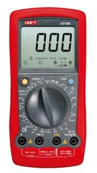 Free Shipping UNI-T UT106 LCD Digital Multimeter DC Amp AC/DC Volt Ohm Hz Temp Meter tester<br><br>Aliexpress
