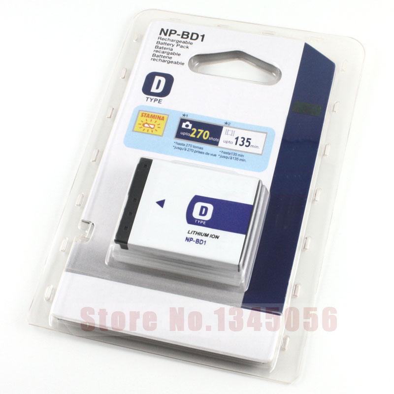 NP-BD1 NP BD1 NPBD1 Camera Battery Digital Batteries for SONY FD1 DSC TX1 T2 T70 T75 T200 T300 T77 T500 T700 T90 T900<br><br>Aliexpress