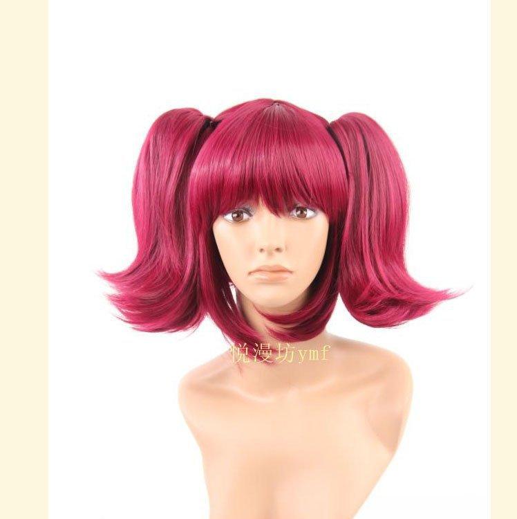 Парик косплей Red 38 , hair.wholeslaer Cos-151 парик cos